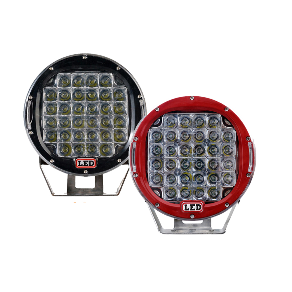 Factory sale quality 12 volt 24 volt IP67 waterproof 9inch Round 96W led driving light for Jeep wrangler truck