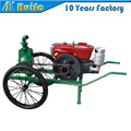 Newly Retractable Spray Water Mobile Farm sprikler Irrigation System