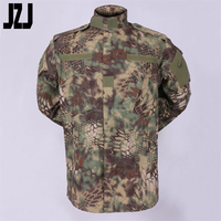 camo plain polyester military clothing used wholesale