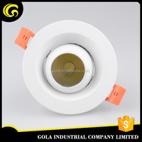 SAA approval ultra slim led panel downlight 5w epistar 5730 smd