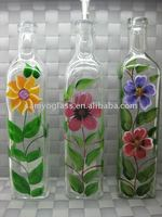 500ml glass olive oilor vinegar bottle