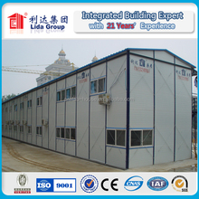 prefabricated house building for labour quarter/job site worksite living accommodation /office accomodation