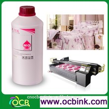 Ocbestjet Textile DTG Printing Ink use For Cotton T-shirt Printing For Epson Surecolor F6070 F7070 F2000 Inkjet Piezo Printers