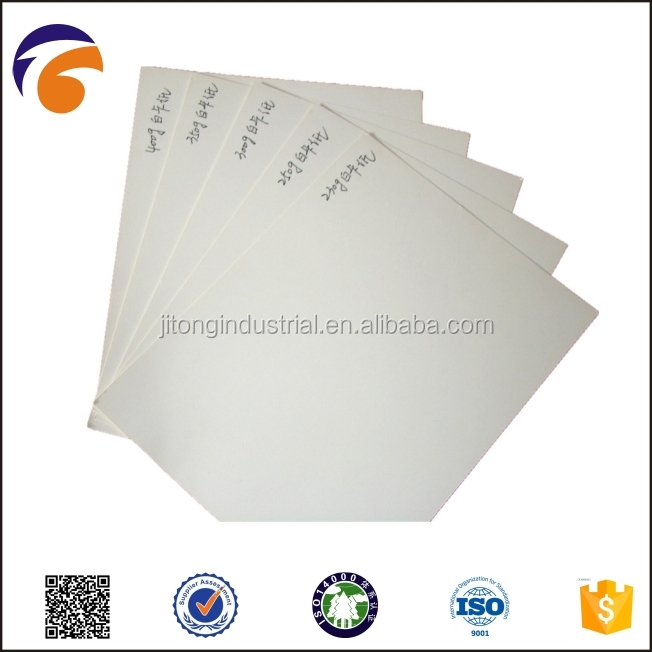 C1S coated duplex board wiht ivory back,folding board box ivory board,cast coated paper board