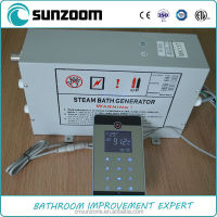 SUNZOOM Bathroom steam generator, steam powered electric generator, steam bath generator