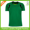 Guangzhou factory low price custom fabric material jersey soccer 2014 belgium soccer jersey