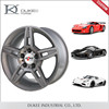 Factory price Replica Cast 15 Inch 5 Hole Alloy Wheel Rim