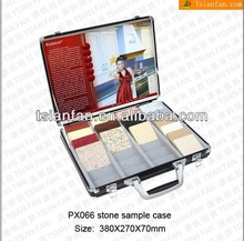 china produce glass slab metal display case