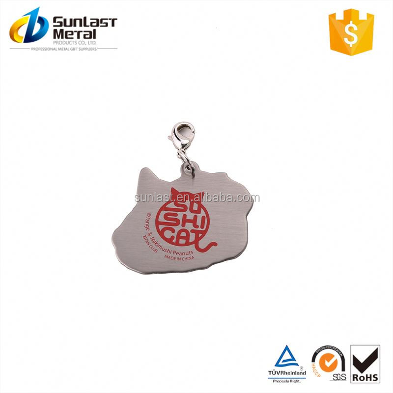 New product simple design custom metal blank pendants fast delivery