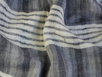 Spring summer yarn dyed stripe linen dress fabric