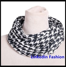 Classic Winter Scarf Soft Neck Wrap Stole Cowl Shawl Men Women Plaid Infinity Houndstooth Scarves New