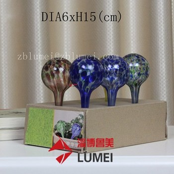 promotional watering globe set colorful watering globe for garden plants
