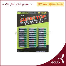 AA R06 UM3 dry battery SUPER TOP brand 1.5volt