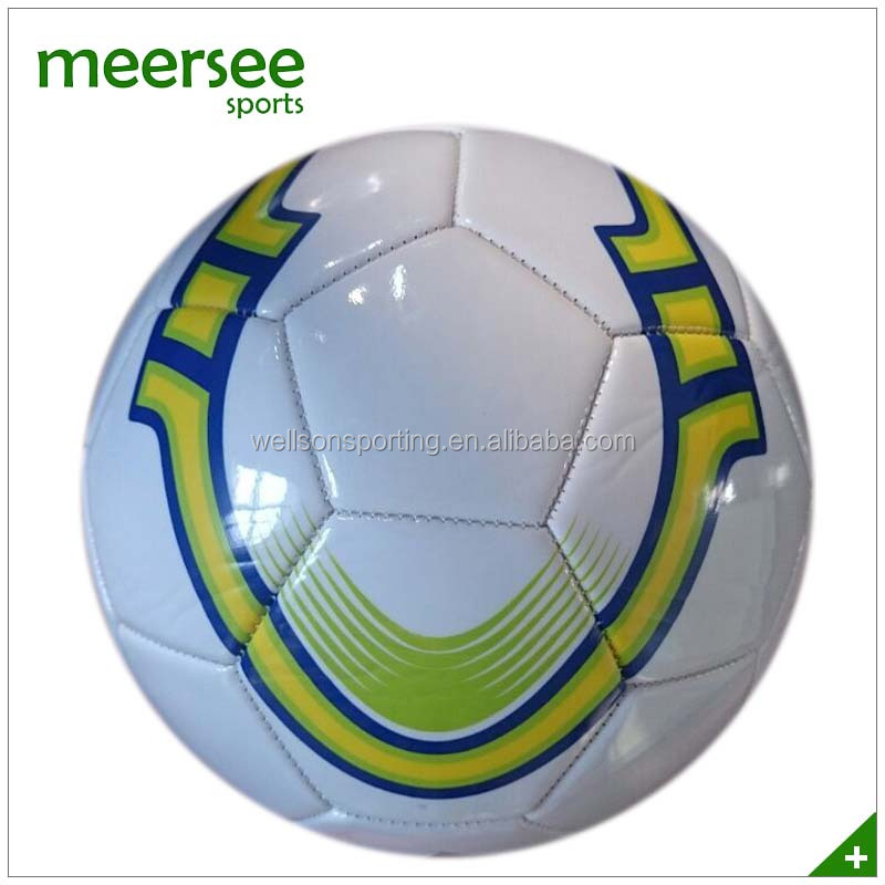 OEM junior school training quality PVC foamed soccer ball size 3 bulk