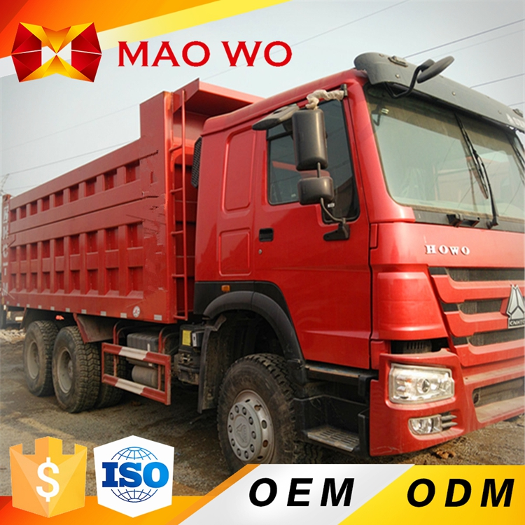 Popular Sinotruck Howo 30T mining dump tipper truck for sale in dubai