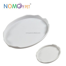 Nomo eggshell water and food feeder for reptile snake spider lizard
