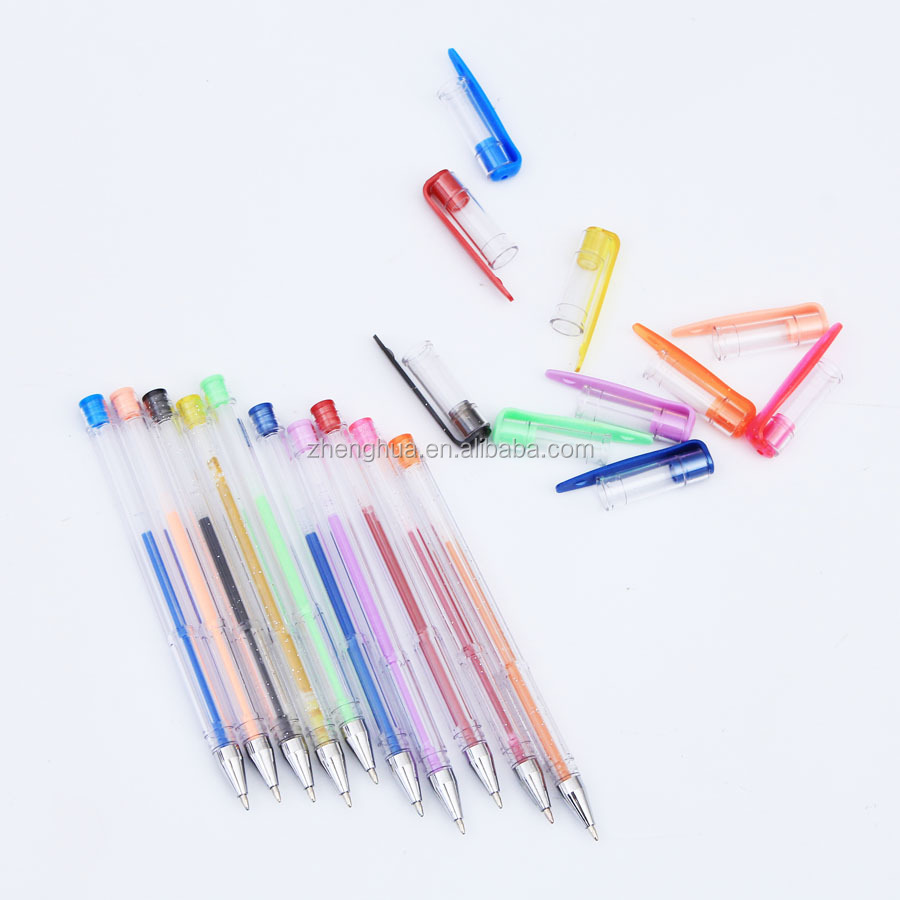 Adult Coloring Books Drawing 100 Color Gel Pen Set