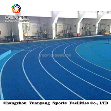 synthetic rubber running track material breathable plastic running track surface material