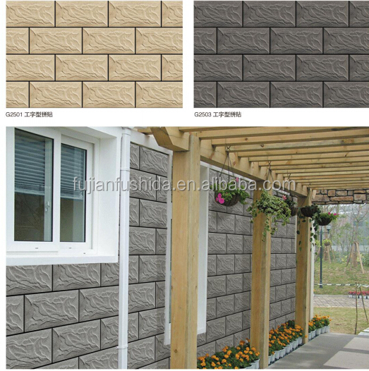 3d inkjet exterior wall tile red wall tile exterior wall for 3d outdoor wall tiles