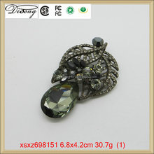 XSXZ698151 Cheap Wholesales Rhinestone Brooches For Wedding Bridal Ornaments