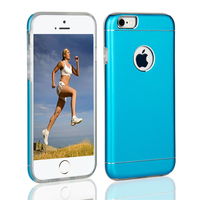 Fashion Dual Layer Protective Cases For iPhone Aluminum + TPU Mobile Phone Cover For iPhone 6