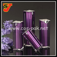 OEM Customizable airless pump bottle cosmetics