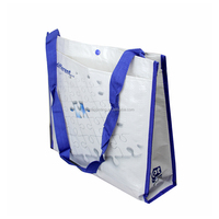 high end pp woven bag for agricultural silver aluminium foil laminate pouches side seal laminated plastic mylar bags