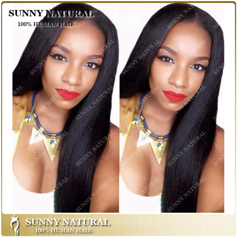Natural Looking long lasting <strong>u</strong> part wigs for black women human hair wholesale price
