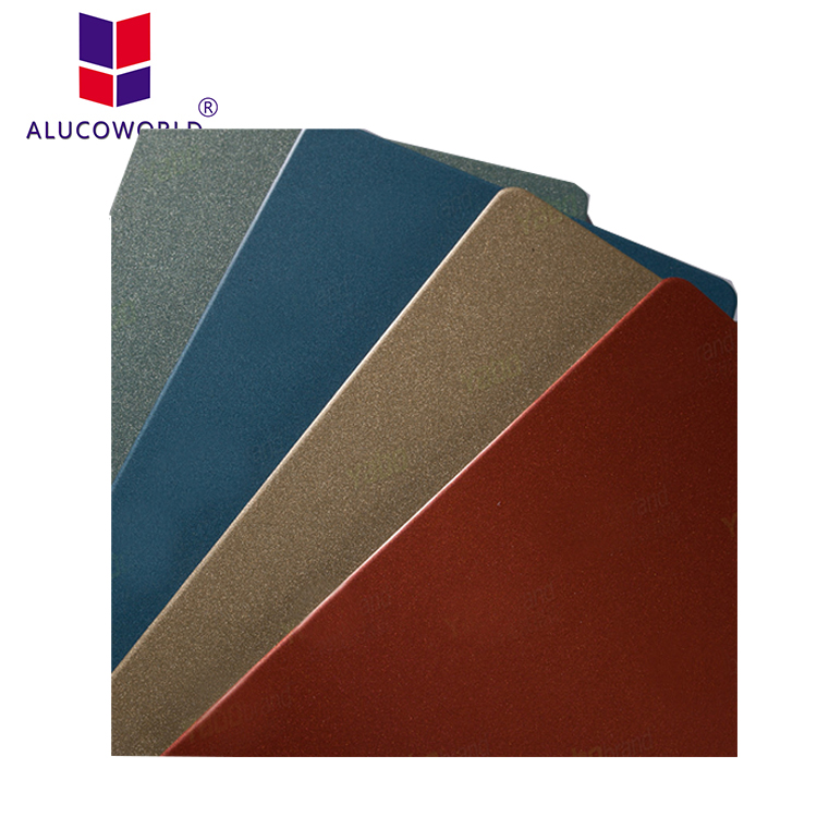 ALUCOWORLD panel exterior commercial buildings fiberglass wall cladding decorative panels exterior metal wall panels