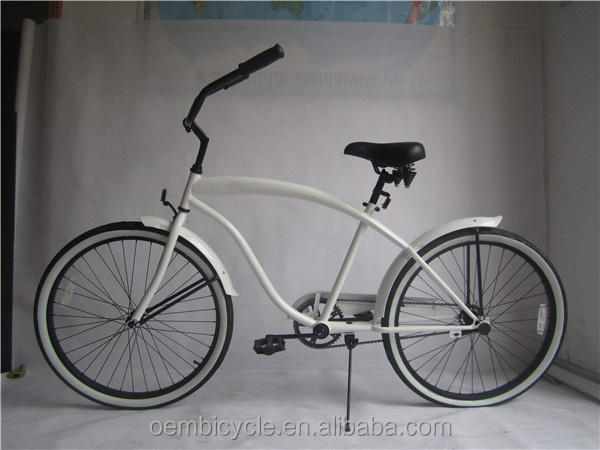 Classic Single Speed 26 Inch Chopper Beach Cruiser Bicycle