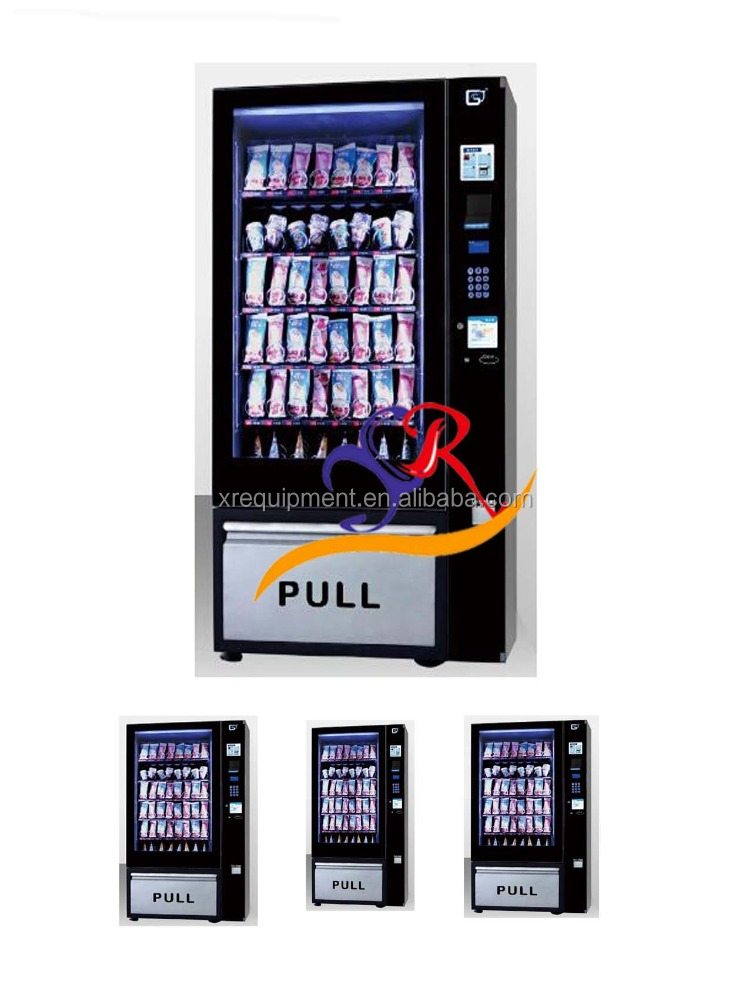 Smart/Small/Automatic soft ice cream Vending Machine