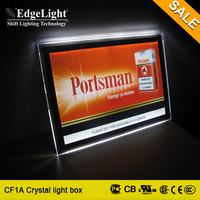 Edgelight High Quality Acrylic Advertising Led