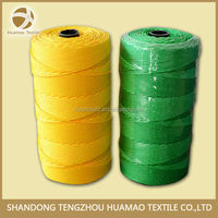 huamao colorful cheap pp fishing twine