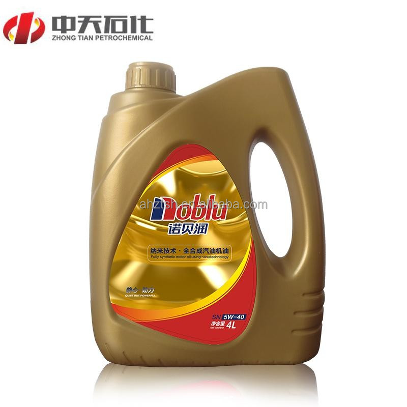 High quality base stocks and additives API SG Motor Oil SAE 10W 40
