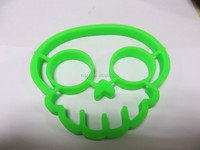 Silicone Skull Shaped Egg Ring 100% Food Grade Silicone cooking silicone egg mold