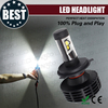 high performance colour white 6500k Gen6 super bright led headlight bulb h4