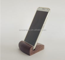 Eco-friendly custom wood car holder for mobile phone,phone stand,phone display
