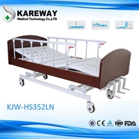 Home care nursing bed,medical hospital recovery bed,folding patient bed