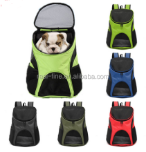 Pet Dog Cat Puppy Double Shoulder Backpacks Sport Travel Outdoor Carrier Bag