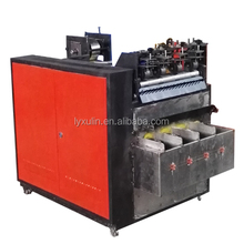full automatic spiral scourer making machine