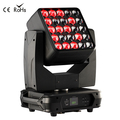 New Moving Head Lights RGBW 25x15w Emitting Color led matrix beam moving head light