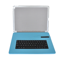 9.7 tablet rohs fcc ce Mini bluetooth keyboard leather case for ipad