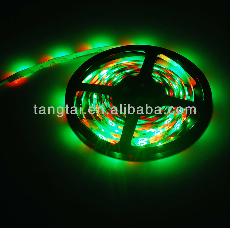 Energy Saving led strip RGB 3528 with CE RoHS certificate
