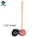 good and durable quality easy use syringe rubber toilet plunger with match with different material handle