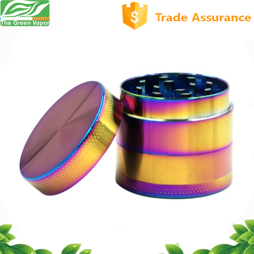 CNC teeth zinc alloy aluminum alloy 56mm / 63mm grinder herb