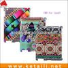 Hotselling Products Silicone IMD high glossy design for plastic ipad 4 cover