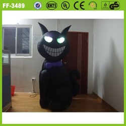 2014 hot sale promotional inflatable black cat