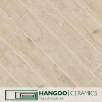 Best Seller Wooden Finished Toilet Porcelain Tiles