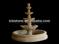 3 tiers marble fountain