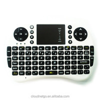 Cloudnetgo Wireless 2.4G Mini Keyboard for Google Android Devices (Smart TV, TV Box, HTPC, PC, Notebook Pad and Games